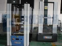 100kN龙门式弹簧拉压力机测试机车间