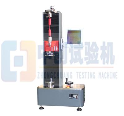 数显弹簧拉压力实验机