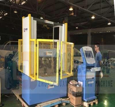 国立台湾大学-300kN空气弹簧压力试验机