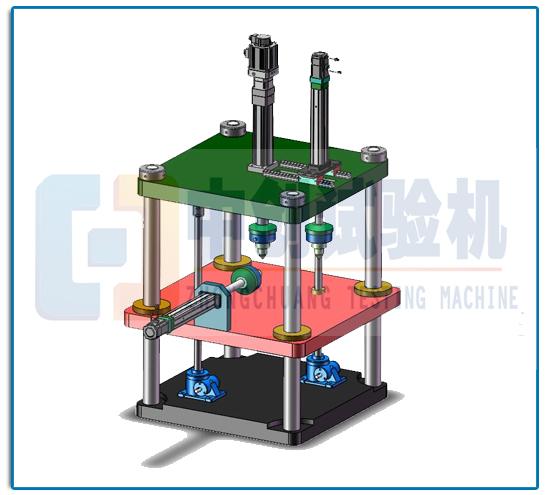多分量力传感器校准台架应用范围